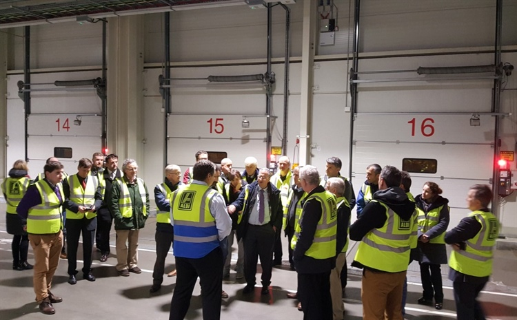 CILT Southern Section get a behind the scenes tour of Aldi's distribution centre.